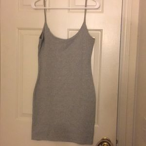 Light Grey Forever 21 Dress